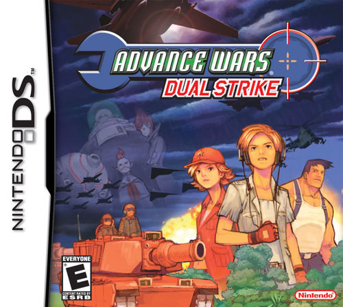 Cover for Advance Wars: Dual Strike.