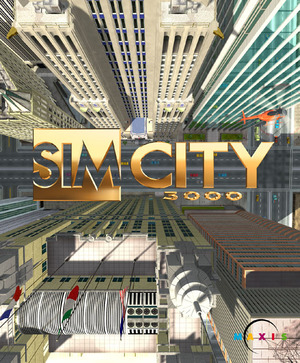 Cover for SimCity 3000.