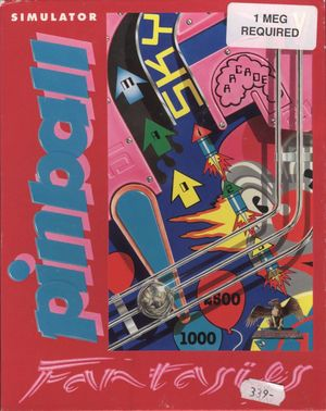 Cover for Pinball Fantasies.