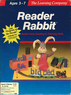 Cover for Reader Rabbit.