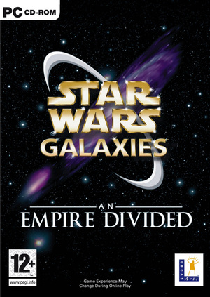Cover for Star Wars Galaxies.