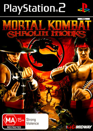 Cover for Mortal Kombat: Shaolin Monks.