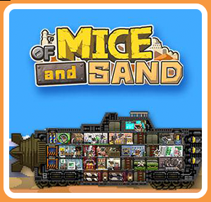Cover for Of Mice and Sand.