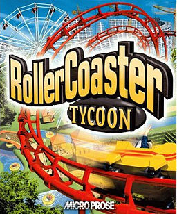 Cover for RollerCoaster Tycoon.