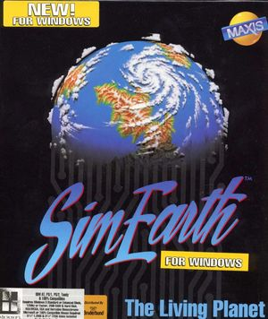 Cover for SimEarth.