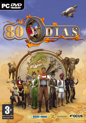 Cover for 80 Days.
