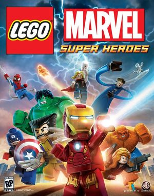 Cover for Lego Marvel Super Heroes.