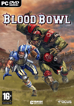 Cover for Blood Bowl.
