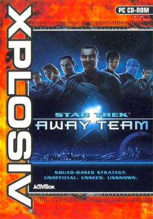 Cover for Star Trek: Away Team.