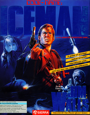 Cover for Codename: ICEMAN.