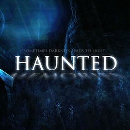 Cover for Haunted Memories.