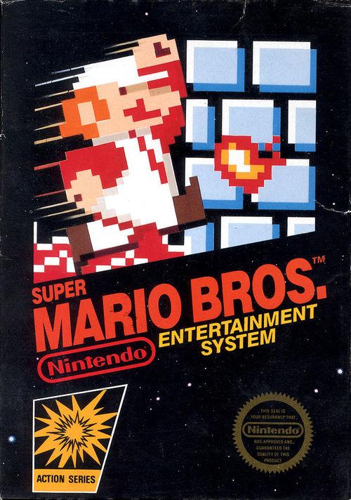 Cover for Super Mario Bros..