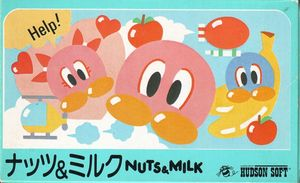 Cover for Nuts & Milk.