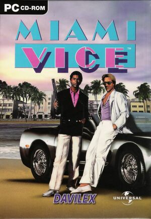 Cover for Miami Vice.