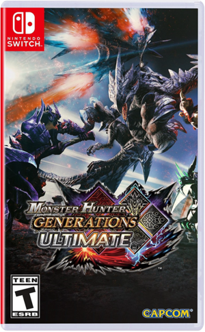 Cover for Monster Hunter Generations Ultimate.