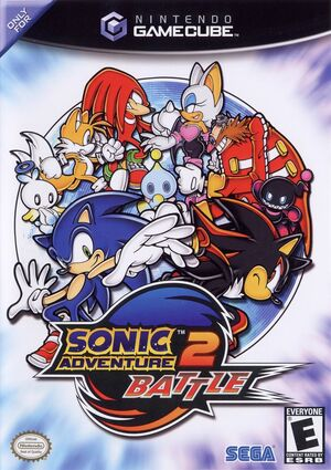 Cover for Sonic Adventure 2: Battle.