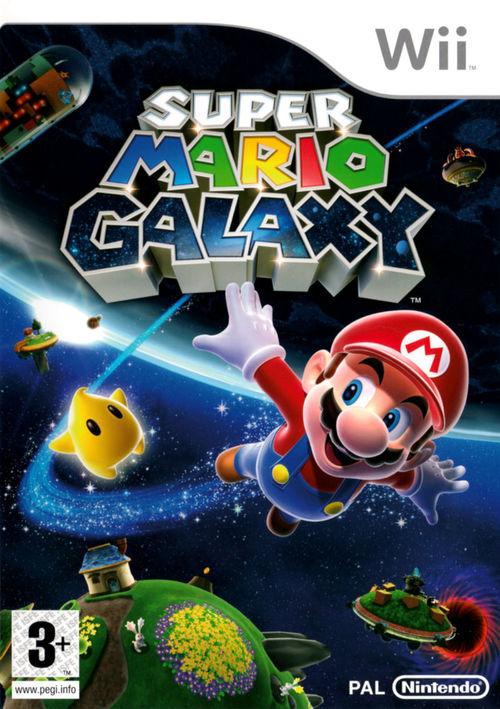 Cover for Super Mario Galaxy.