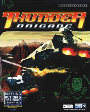 Cover for Thunder Brigade.