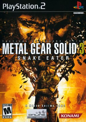 Cover for Metal Gear Solid 3: Snake Eater.