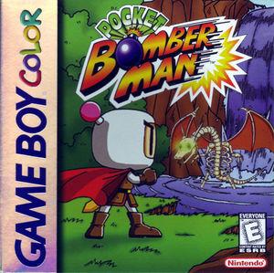 Cover for Pocket Bomberman.