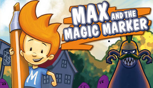 Cover for Max & the Magic Marker.