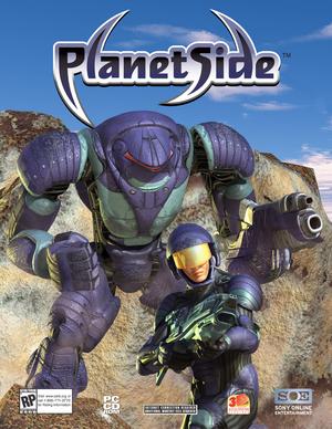 Cover for PlanetSide.