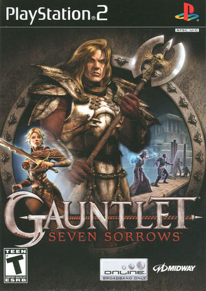 Cover for Gauntlet: Seven Sorrows.