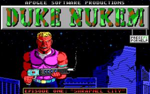 Cover for Duke Nukem.
