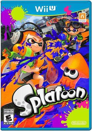 Cover for Splatoon.