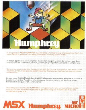 Cover for Humphrey.