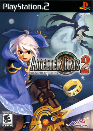 Cover for Atelier Iris 2: The Azoth of Destiny.