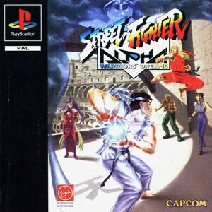 Cover for Street Fighter Alpha.
