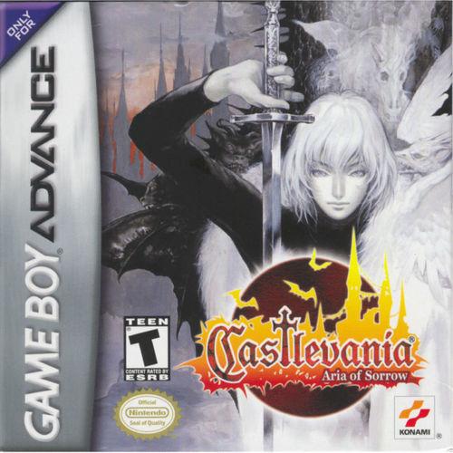 Cover for Castlevania: Aria of Sorrow.