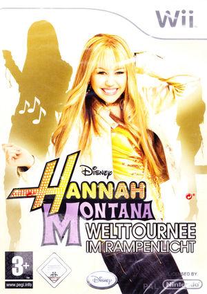 Cover for Hannah Montana: Spotlight World Tour.