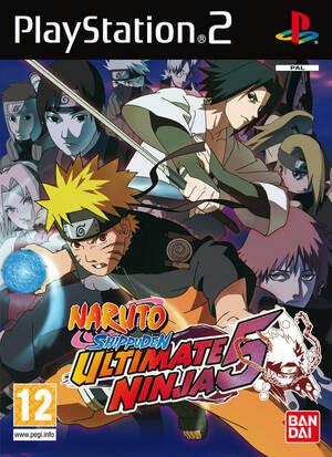 Cover for Naruto Shippūden: Ultimate Ninja 5.