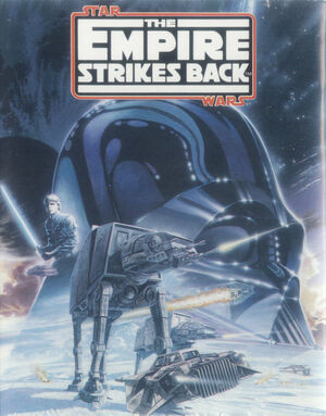Cover for Star Wars: The Empire Strikes Back.