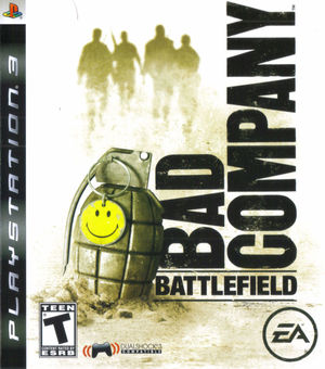 Cover for Battlefield: Bad Company.