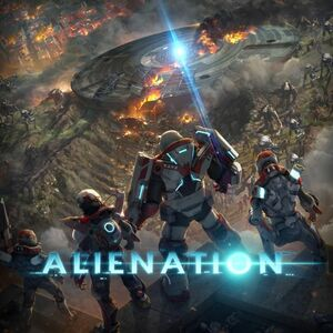 Cover for Alienation.