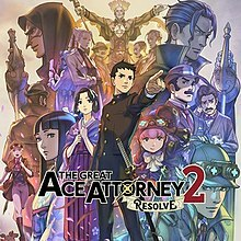 Cover for The Great Ace Attorney 2.