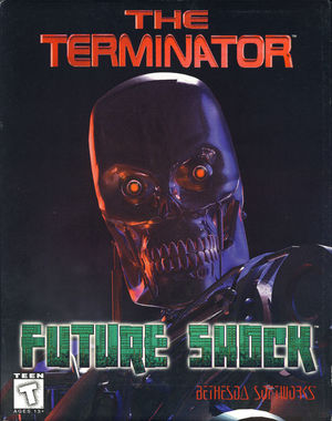 Cover for The Terminator: Future Shock.