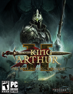 Cover for King Arthur II: The Role-playing Wargame.