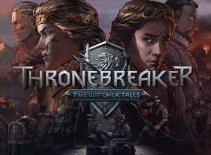 Cover for Thronebreaker: The Witcher Tales.