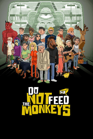 Cover for Do Not Feed the Monkeys.