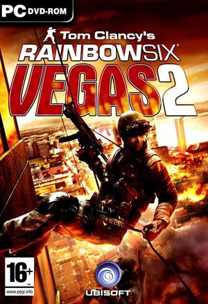 Cover for Tom Clancy's Rainbow Six: Vegas 2.