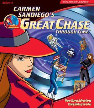 Cover for Carmen Sandiego's Great Chase Through Time.