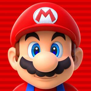 Cover for Super Mario Run.