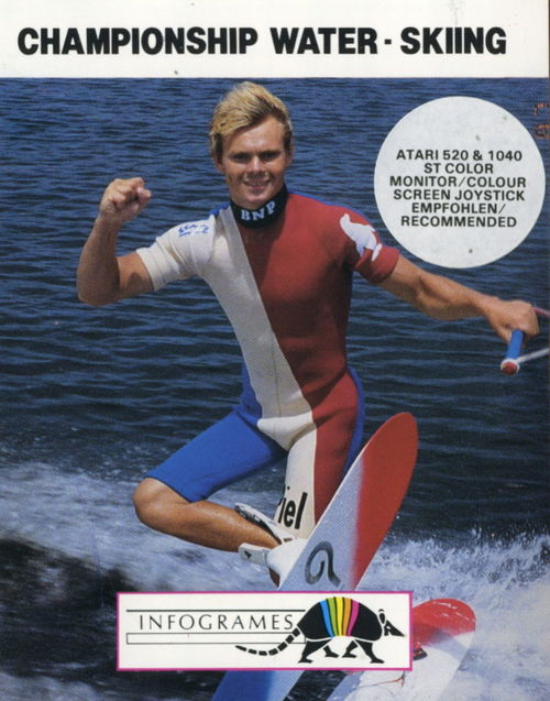 Cover for Championship Water-Skiing.