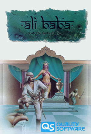 Cover for Ali Baba and the Forty Thieves.