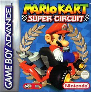 Cover for Mario Kart: Super Circuit.