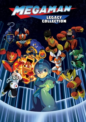 Cover for Mega Man Legacy Collection.